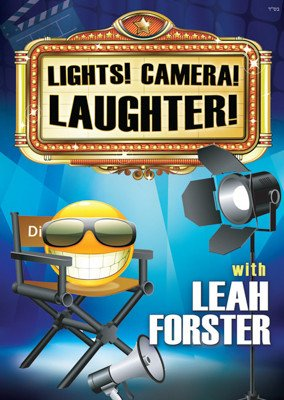 LEAH FORSTER - LIGHTS! CAMERA! LAUGHTER! - DVD