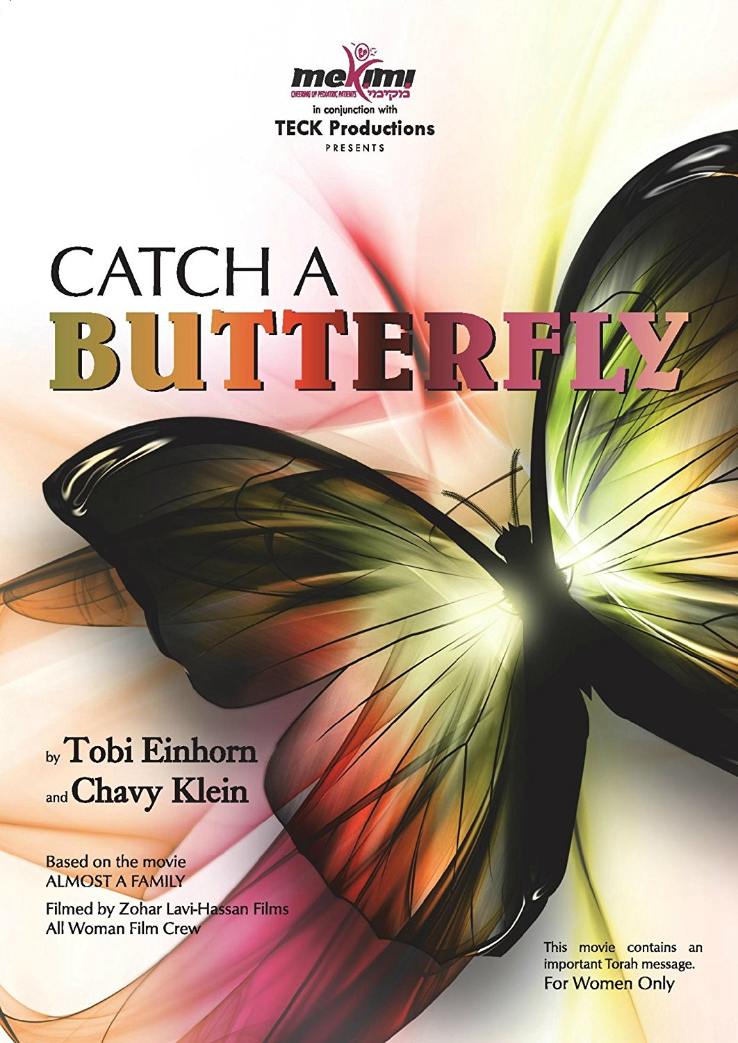CATCH A BUTTERFLY - DVD