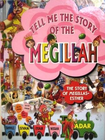 Tell Me The Story of the Megillah with Plastic Laminated Pages