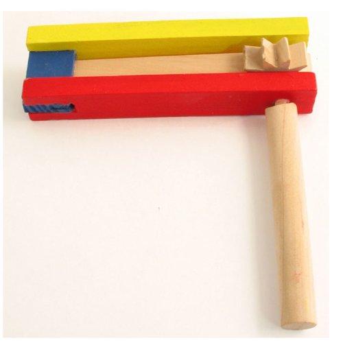 Medium Colored Wooden Gragger