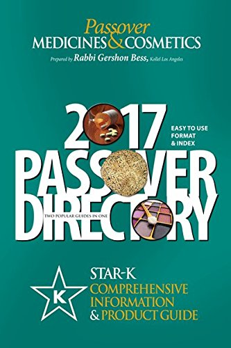 Rabbi Bess / Star- K Passover Guide 2017