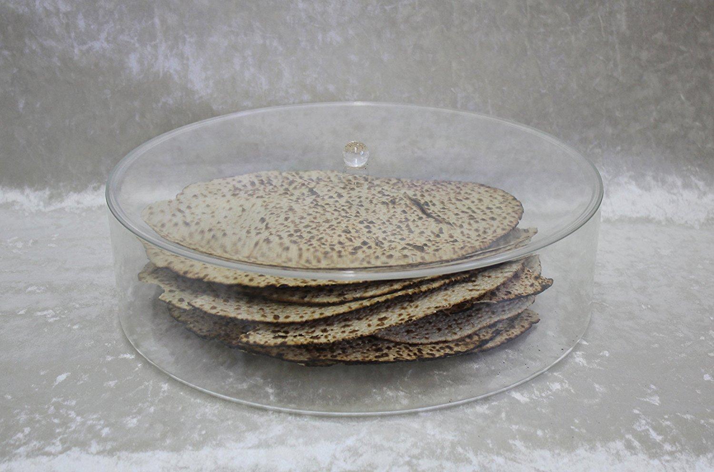"""Passover Lucite Matzah Box, 14"""" - LMB100"""