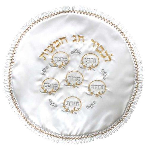 MC200R Round Terylene Passover Matzah Cover, 17-Inch