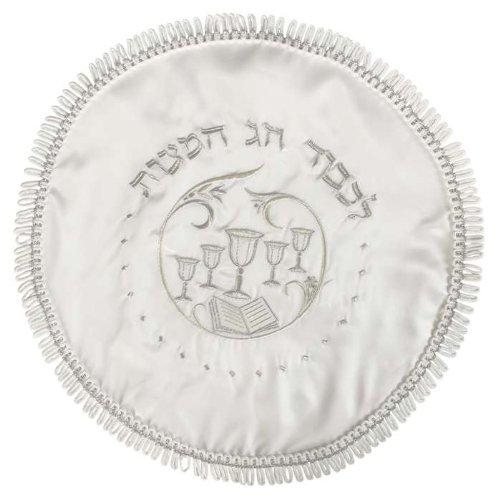 Round Terylene Passover Matzah Cover, 17-Inch - MC202R