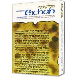 Eichah /Lamentations: A new translation with a commentary anthologized from talmudic, midrashic and rabbinic sources