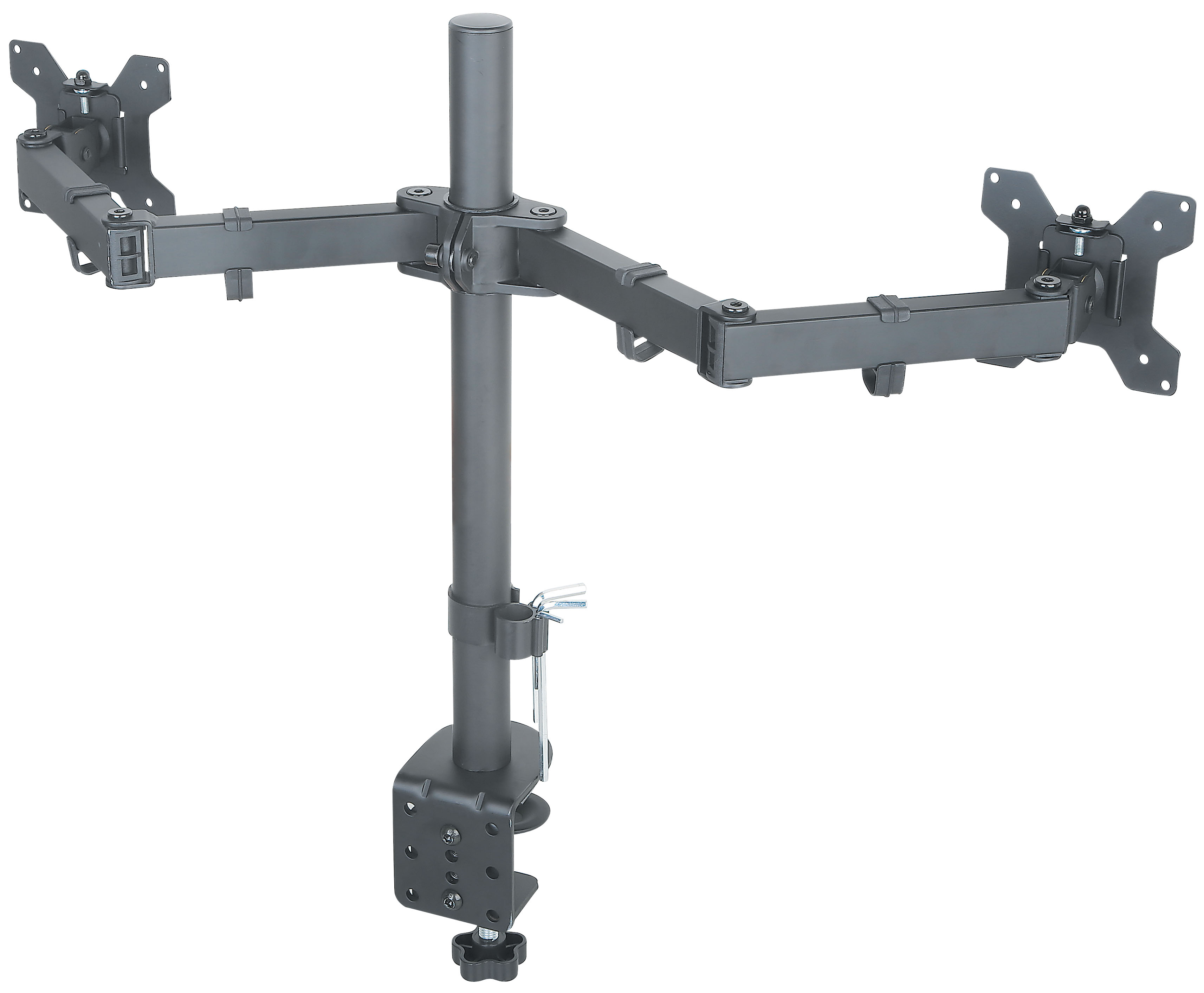 Halter Dual LCD Monitor Desk Mount Stand Heavy Duty Fully ...