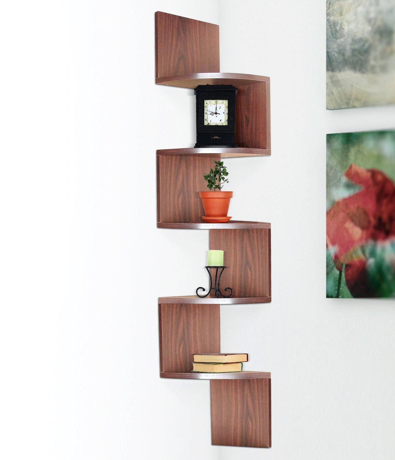 large corner wall mount shelf haltermount mount units. Black Bedroom Furniture Sets. Home Design Ideas