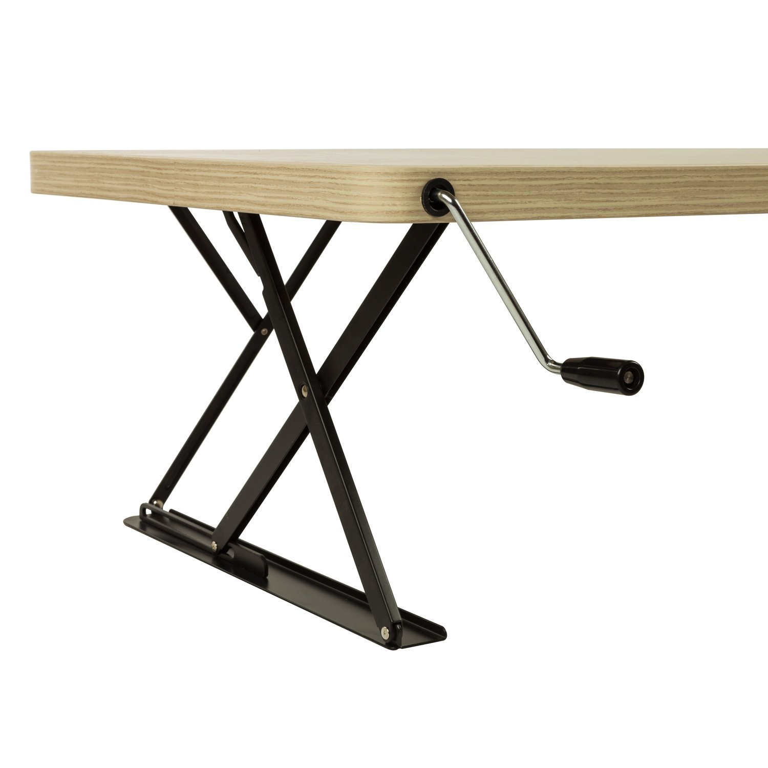 Manual Adjustable Height Table Top Sit / Stand Desk