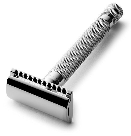 Double Edge Extra Long (4'') Handle Safety Razor